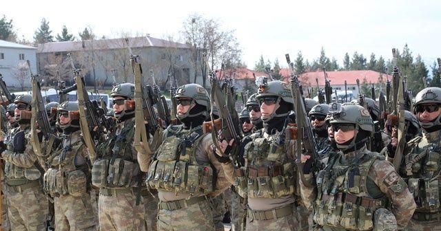 Şırnak'tan 660 asker ve korucu Afrin'e uğurlandı