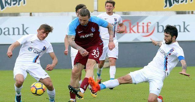 Trabzonspor antrenman maçını farklı kazandı