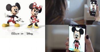 Disney karakterleri Samsung Galaxy S9 ve S9+'larda hayat buluyor