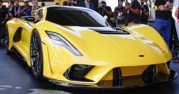 Dünyanın en hızlı arabası!   En hızlı yol arabası 24 adet üretildi