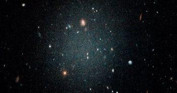 Karanlık maddenin bulunmadığı galaksi keşfedildi