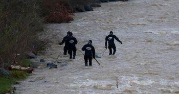 Maçka'da kayıp polisi arama çalışmaları sürüyor