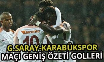 ÖZET İZLE: Karabükspor 0-7 Galatasaray Maçı Geniş Özeti Golleri İZLE | Karabükspor Galatasaray Kaç Kaç Bitti?