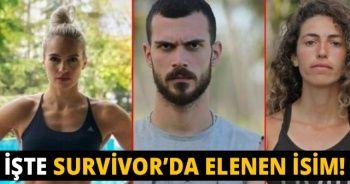 Survivor'da kim elendi?   Survivor 2018'de Elenen İsim kim? Survivor'da adadan kim gitti?