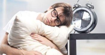 Yapılan araçtırmalara göre her 10 kişiden biri uykusuzluk çekiyor