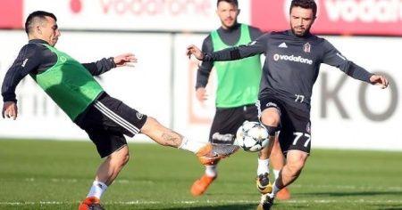 Beşiktaş, Bayern Münih maçı hazırlıklarını sürdürdü