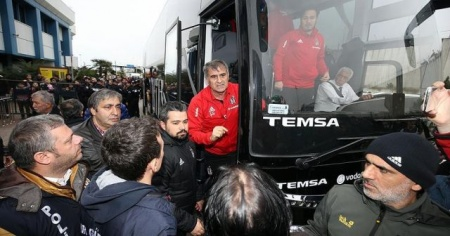 Beşiktaş kafilesi Trabzon'da