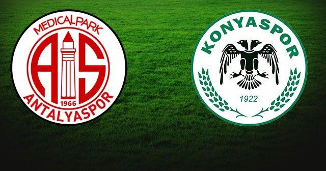 Antalyaspor Konyaspor Maçı Özet İzle | Antalyaspor Konyaspor  skoru kaç kaç bitti?