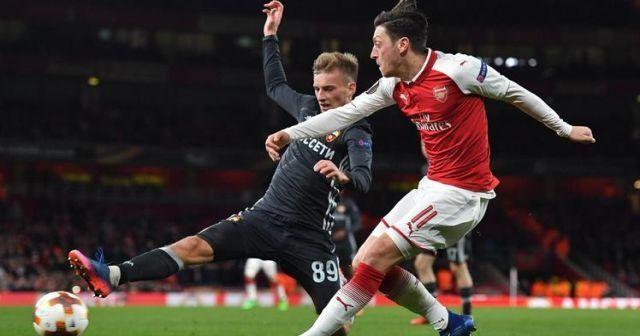 CSKA-Arsenal maçı özeti golleri izle!  CSKA Moskova-Arsenal maçı kaç kaç bitti?