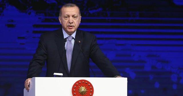 Cumhurbaşkanı Erdoğan: Türkiye'nin kimsenin toprağında gözü yok