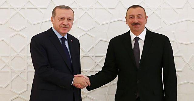 Cumhurbaşkanı Erdoğan yeniden seçilen Azerbaycan Devlet Başkanı'nı kutladı