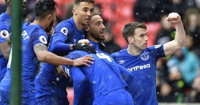 Everton Liverpool Maçı Geniş Özet İZLE | Everton Liverpool Maçı Kaç Kaç Bitti? Cenk Tosun gol attı mı?