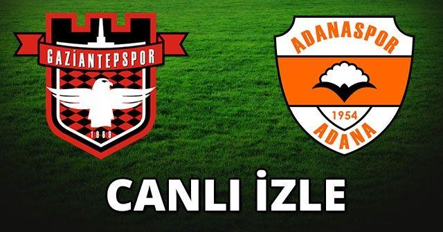 Gaziantepspor Adanaspor Özet izle | Gaziantepspor Adanaspor maçı kaç kaç bitti?