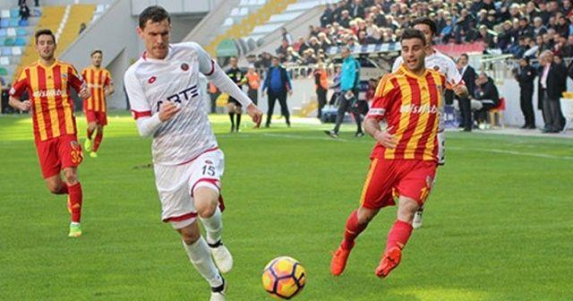 Kayserispor Gençlerbirliği 3-2 maçı özeti ve golleri İZLE | Kayseri Gençlerbirliği maçı kaç kaç bitti geniş özet