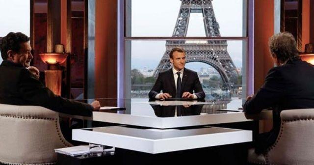 Macron'dan itiraf gibi açıklama: Amerikalıları biz ikna ettik
