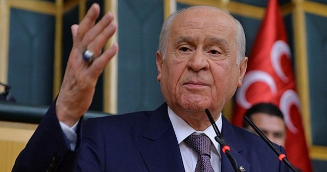 MHP lideri Devlet Bahçeli: Cumhurbaşkanı adayımız Recep Tayyip Erdoğan'dır