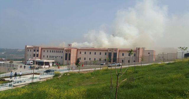 Son dakika! Bursa'da hastane yangını