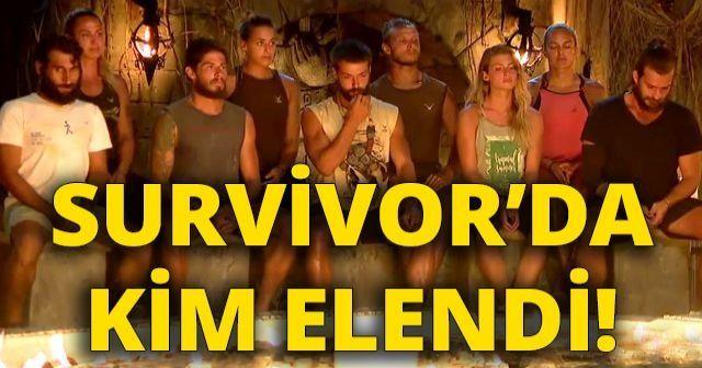 Survivor Kim Elendi! Survivor Kim gitti belli oldu | Survivor Adaya Kim Veda Etti | Survivor Elenen İsim Belli Oldu? İşte elenen isim