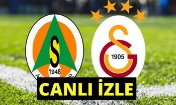 Alanyaspor Galatasaray ÖZET İzle! Alanya-GS  Kaç Kaç bitti ?