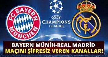 Bayern Münih-Real Madrid Maçını Şifresiz Veren Kanallar! Az tv İdman Tv Canlı İzle