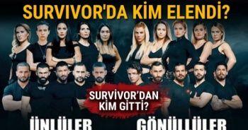 Survivor Kim Gitti, Survivor kim elendi? | Survivor kim adaya veda etti? | Survivor'da Elenen İsim Kim Oldu | SURVİVOR CANLI