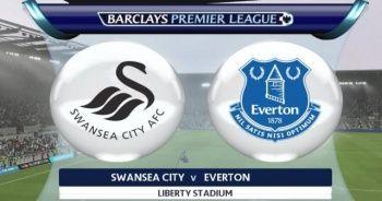 Swansea City Everton maçı özet İZLE | Swensea City Everton Maçı kaç kaç bitti