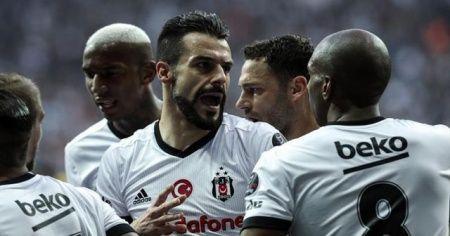 Vodafone Park'ta kazanan Beşiktaş