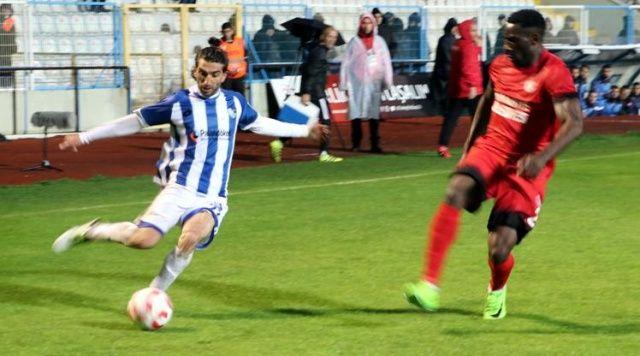 7 gollü kapışmada ilk raunt BŞB Erzurumspor'un
