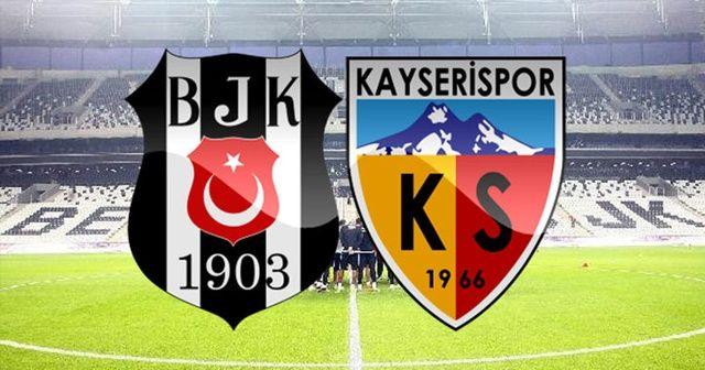 FULL ÖZET: Beşiktaş Kayserispor Maçı 2-0 Özeti ve Golleri İzle | BJK Kayserispor Maçı Kaç Kaç Bitti Skor VİDEO