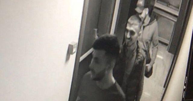 Hırsızlar lüks rezidansta eğlenirken yakalandı