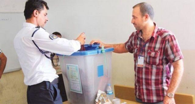 Irak seçimlerine katılım oranı %44.52