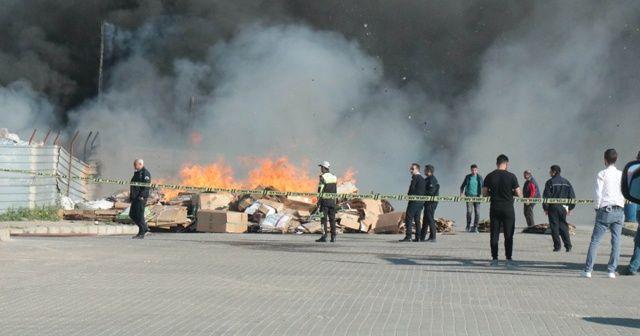 Kırşehir OSB'de yangın çıktı