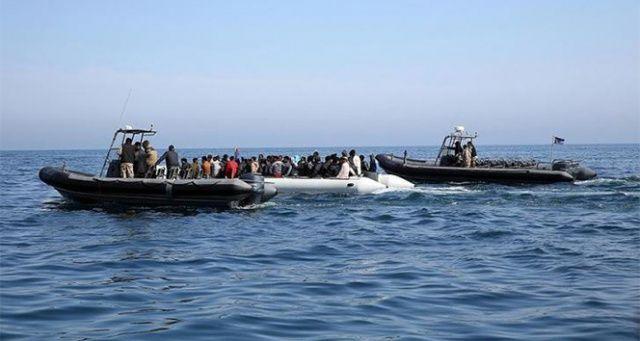 Libya açıklarında 180 göçmen kurtarıldı