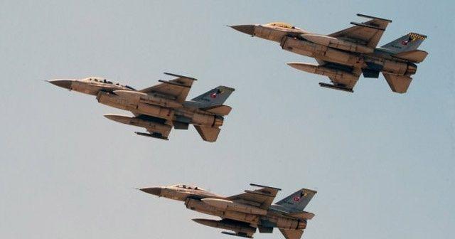MİT tespit etti, F16'lar vurdu!