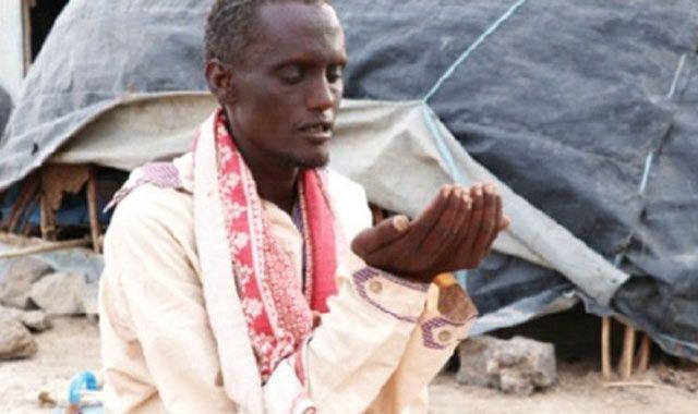 Muhammed'in duası bir damla su için…
