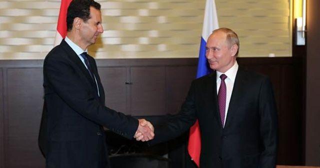 Putin ve Esad Soçi'de bir araya geldi