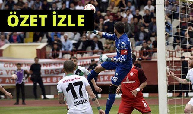 Sakaryaspor 2-1 Gümüşhanespor maçı özet İzle | Sakarya Gümüşhane Maçı Skor Kaç Kaç bitti?
