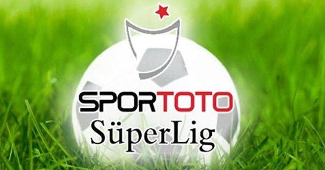 Süper Lig'de 34. hafta programı açıklandı!
