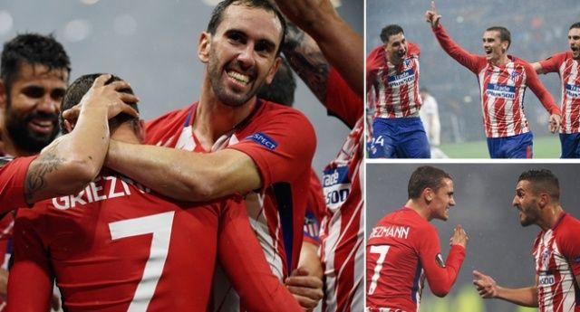 UEFA Avrupa Ligi Kupası'nı Atletico Madrid kazandı