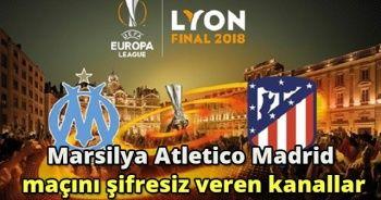 Marsilya Atletico Madrid maçını şifresiz veren kanallar! İdman TV AZ TV Tivibuspor 2 Canlı İzle