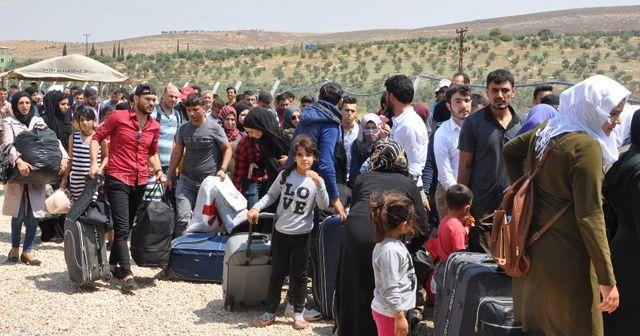 83 bin Suriyeli memleketine gitti