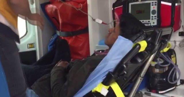 Bingöl'de LGS heyecanından 1 öğrenci hastanelik oldu