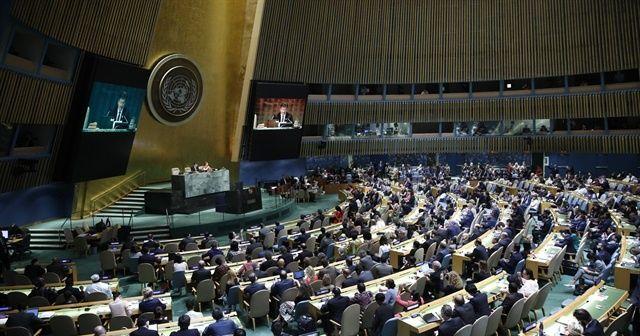 BMGK, Filistin halkı için koruma talep eden kararı kabul etti