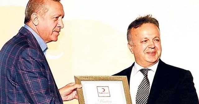 Cumhurbaşkanı Erdoğan, İsmail Gülle'yi tebrik etti