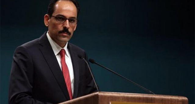 Cumhurbaşkanlığı Sözcüsü Kalın: 'BM kararı, Filistin davası ve adalet için büyük bir başarıdır'
