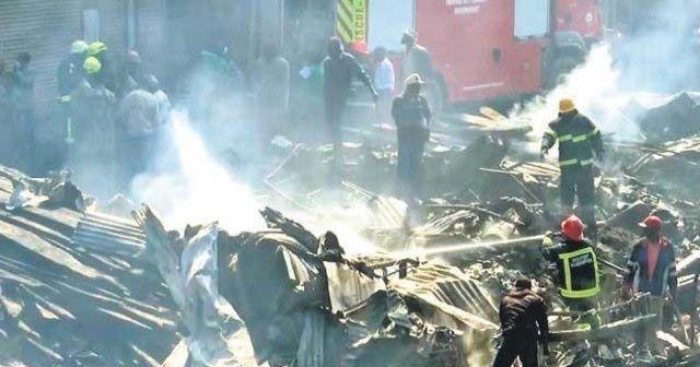 Kenya'daki yangında can pazarı: 15 ölü