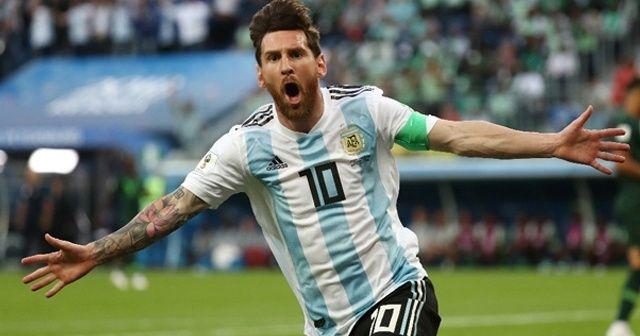 Messi'li Arjantin zoru başardı!