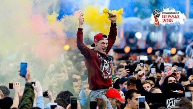 Rusya'da futbol coşkusu