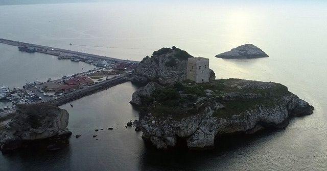 Şile Kalesi havadan görüntülendi