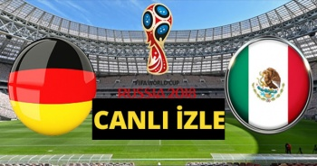 Almanya Meksika 2018 Dünya Kupası Maçı Canlı İzle! Almanya Meksika Maçı Kaç Kaç? TRT1 TRT 4K CANLI İZLE
